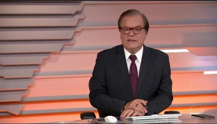 Chico Pinheiro apresenta Bom Dia Brasil na Globo sem Ana Paula Araújo (Foto: Reprodução)