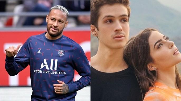 Neymar, João Guilherme e Jade Picon (Foto: Reprodução)