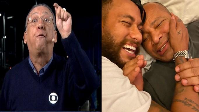 Pai de Neymar Jr. se pronuncia, rasga o verbo após áudio de Galvão