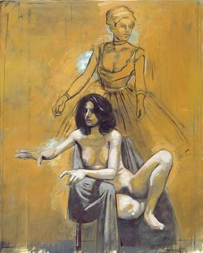 Δέσποινα Ντεγκά, λάδι σε καμβά, 120x100 cm, 2002