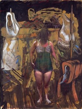 Δωμάτιο 23, ακρυλικό και λάδι σε καμβά, 200x150 cm, 1997