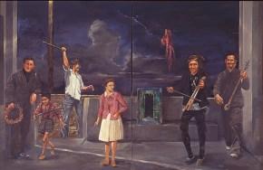 Η μικρή Πόντια, λάδι σε καμβά, 127x205 cm, 1978
