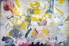 Η σφαγή των αθών, λάδι σε καμβά, 100x150 cm, 2012 The massacre of the innocents, 100x150 cm, 2012
