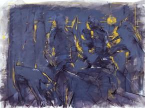 Ιπποκράτειο, λάδι σε καμβά, 150x190 cm, 1990