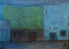 Κοκκινιά, λάδι σε καμβά, 60x80 cm, 1964