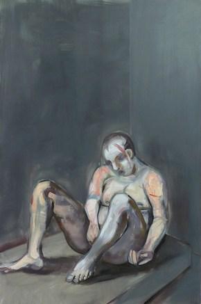 Κρατούμενος, λάδι σε καμβά, 120x100 cm, 2010 Prisoner, oil on canvas, 120x100 cm, 2010