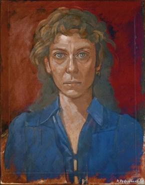 Μαρία, λάδι σε καμβά, 60x40 cm, 1977
