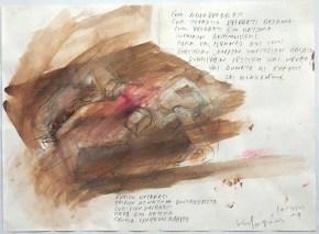 Πατρίς ΙΙΙ, ακουαρέλα, 20x30 cm, 2011, Patris III, aquarelle, 20x30 cm, 2011