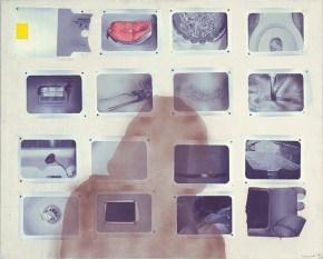 Πολαρόιντ, ακρυλικό σε καμβά, 120x150 cm, 1972
