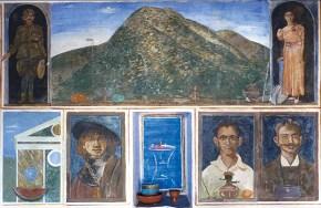 Σύνθεση φρέσκο (οικία στη Σίφνο), 1979