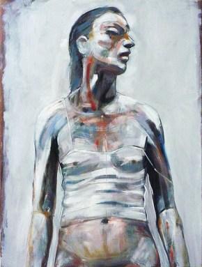 Τζέην, λάδι σε καμβά, 80x60 cm, 2010 Jane, oil on canvas, 80x60 cm, 2010