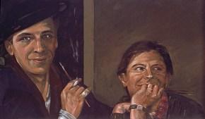 Το δαχτυλίδι, λάδι σε καμβά, 72x104 cm, 1976