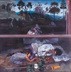 Όνειρο Ι, λάδι σε ξύλο, 130x120 cm, 1977