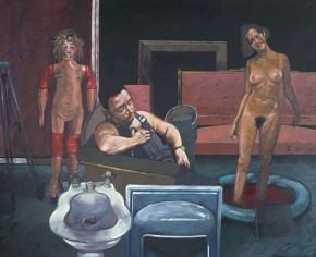 Όνειρο παλαιοπώλη - Μαρά, λάδι σε καμβά, 110x150 cm 1979