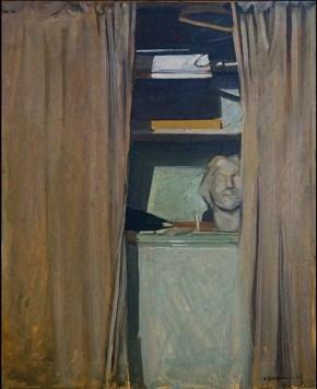 Ύδρα, λάδι σε καμβά, 100x70, 45x55 cm, 1965