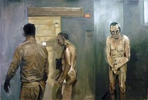 Prison ΙΙΙ, λάδι σε καμβά, 120x180 cm, 2009 Prison III, oil on canvas, 120x180 cm, 2009