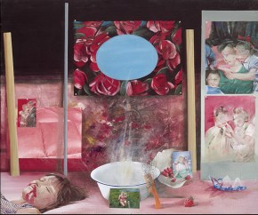 Anna Karina, acrylic on canvas, 172x130 cm, 1974