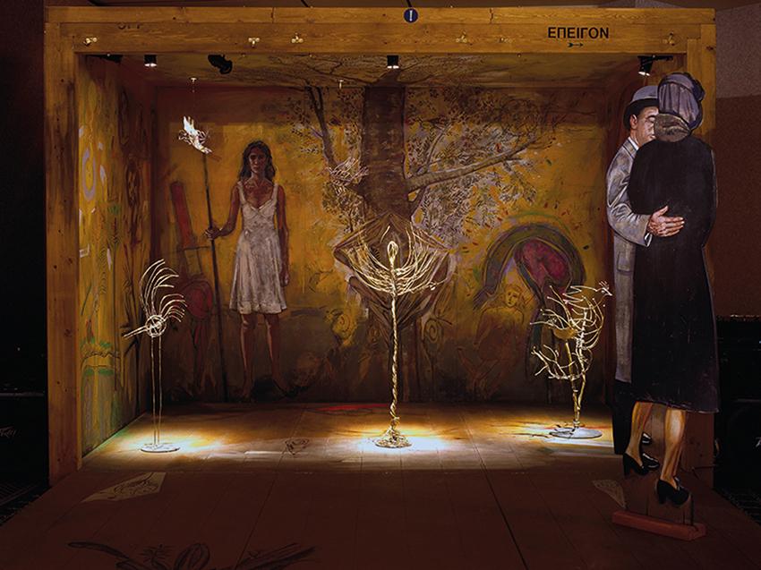 Art box, installation, 200x200x300 cm, 1999
