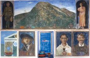 Fresco buono composition (house in Sifnos), 1979