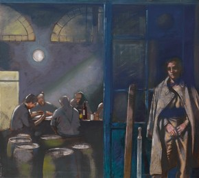 Guard, oil on canvas, 120x100 cm, 1985