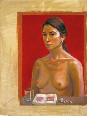 Katia II, oil on cnvas, 100x70 cm, 1987