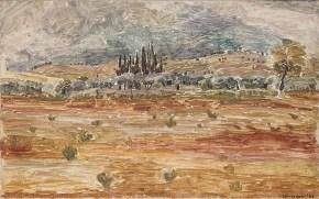 Landscape, oil on canvas, 50x70, 1963