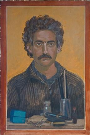 Michalis, egg tempera on canvas, 70x50 cm 1982