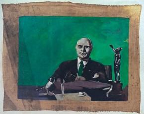 Mr P, oil on canvas, 40x60 cm 1968