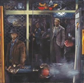Oath, acrylic on canvas, 190x190 cm, 1975