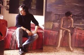 Photo in atrist's studio1989