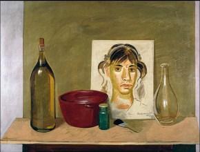 Rachel, egg teempera on wood, 50x70, 1977