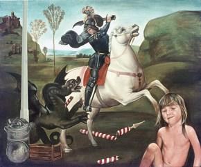 St-George, acrylic on canvas, 120x150 cm, 1975