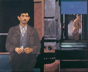 Window, oil on canvas, 120x150 cm, 1976