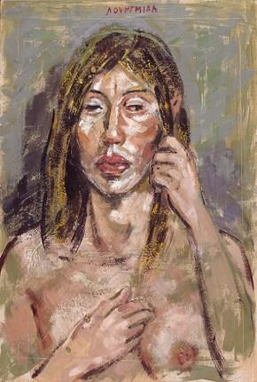 Xenia, encaustic, 50x35 cm, 2006