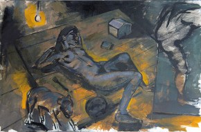 Young Patris, oil on canvas, 80x120 cm, 2009