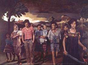 Yvonne Poussin, oil on canvas, 120x160 cm, 1976