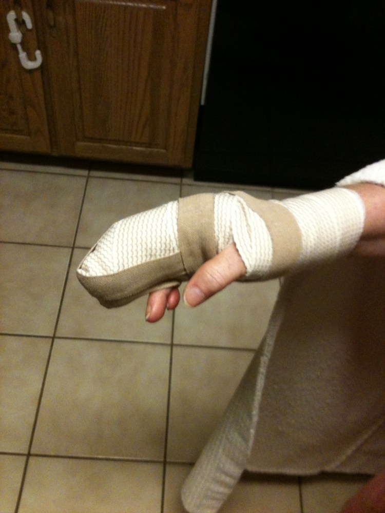 GERRI BOWEN and the still unfinished story of her finger, part two (1/6)