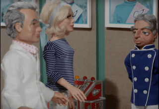 Jeff, Penelope and Parker in Introducing Thunderbirds