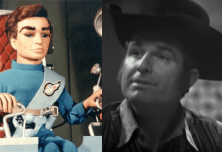 Scott Tracy and Shane Rimmer