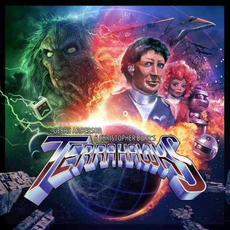 Terrahawks audio series 3 cover