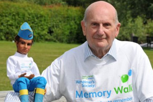 gerry anderson tribute fund alzheimers society