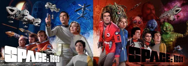 Space 1999 poster pair