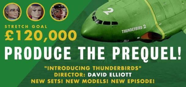 Produce the Thunderbirds Prequel