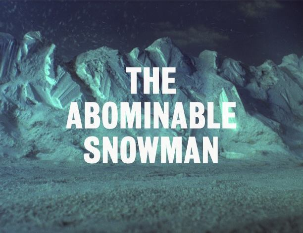 The first episode of Thunderbirds 1965 will be The Abominable Snowman
