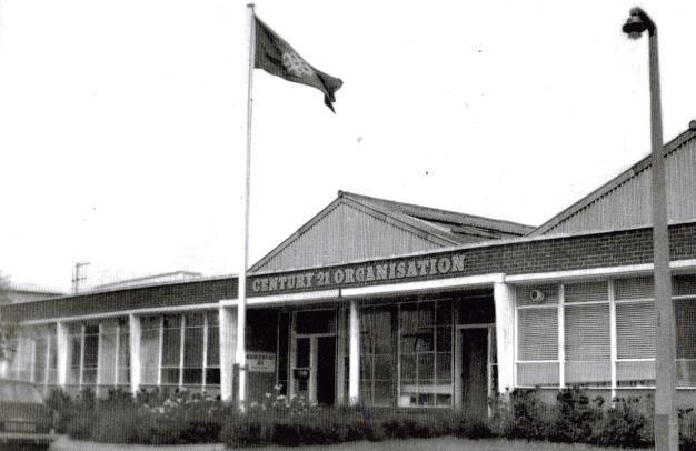 The original Century 21 Studios buildings on Stirling Road, Slough