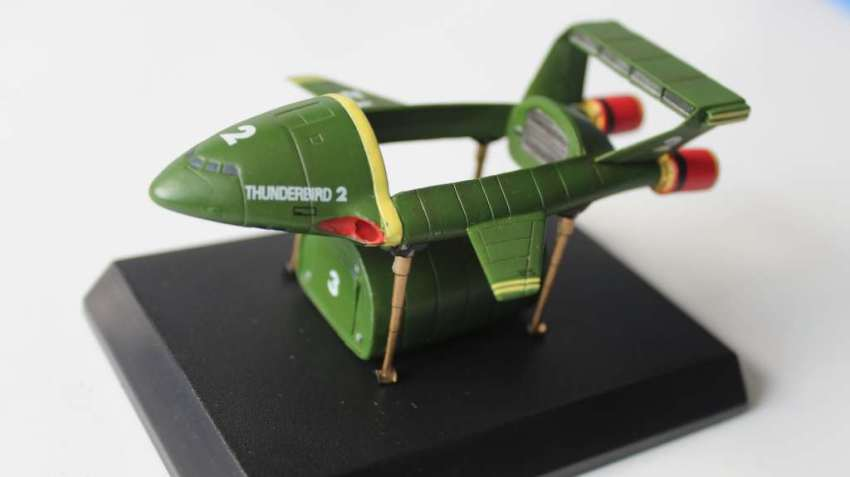 Thunderbird 2 toys - the Konami Thunderbird 2