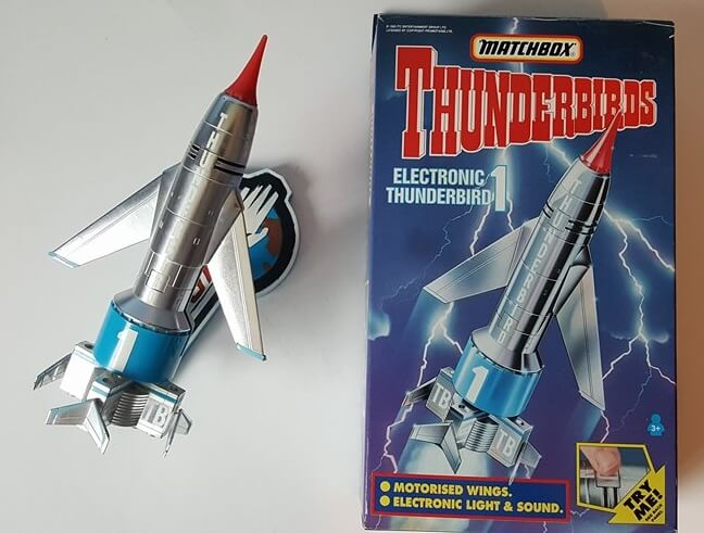 Thunderbirds 1 Toy Rocket With Action And Sounds Brand New