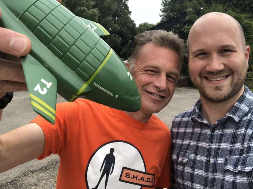 Chris Packham on the Gerry Anderson Podcast