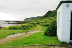 On Kildonan shore