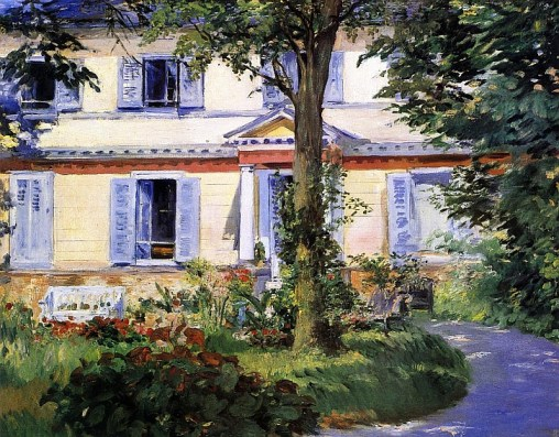 Eduard Manet, The House at Rueil, 1882